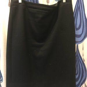 J Crew wool pencil skirt - size 12